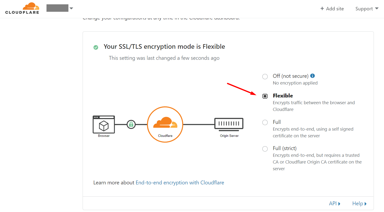 cara setting https cloudflare 6